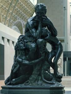 Ugolin et ses fils - J.B. Carpeaux (Musée d'Orsay)