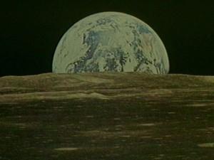 Clair de Terre sur la Lune © photo NASA