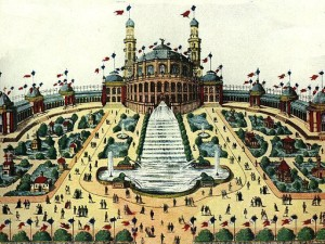 Le Trocadéro de l'Exposition universelle de 1878