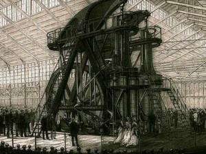 Le moteur Corliss à l'Exposition universelle de Philadelphie