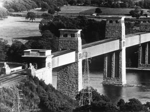 pont Britannia - 1850