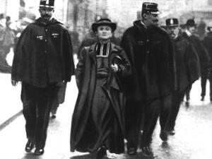 Séparation des Églises et de l'État, arrestation d'un prêtre - 1905