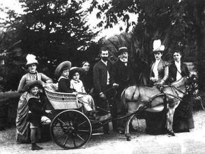 la famille Pereire vers 1875