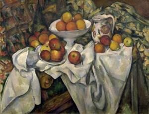 pommes et oranges, Paul Cézanne, Musée d'Orsay