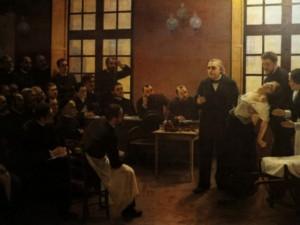 La leçon clinique du docteur Charcot,1886 par André Brouillet.