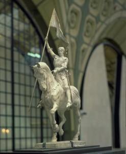Frémiet, Jeanne d'Arc (Musée d'Orsay)