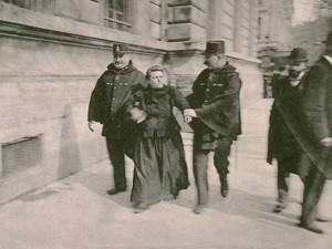 Arrestation au cours d'une manifestation du premier mai