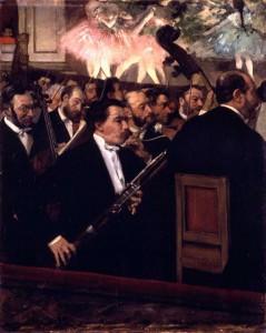 L'oarchestre de l'Opéra, Edgar Degas - Musée d'Orsay