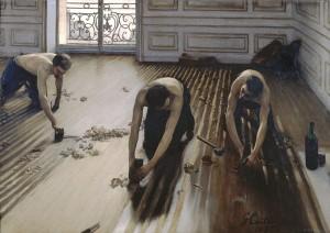 Les raboteurs de parquet, Gustave Caillebotte - Musée d'Orsay-