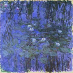 Les nymphéas bleus de Claude Monet - Musée d'Orsay