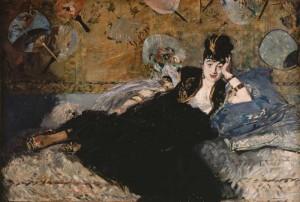 La dame aux éventails d'Edouard Manet - Musée d'Orsay
