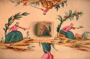 anamorphose avec miroir cylindrique - Album du Musée des arts et métiers