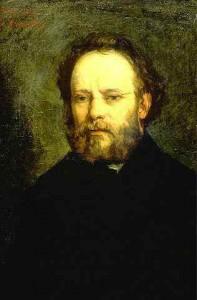 Proudhon par Gustave Courbet - Musée d'Orsay