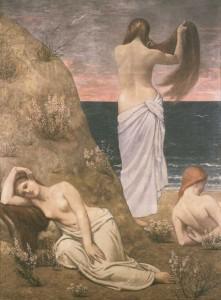 Jeunes filles au bord de la mer - Pierre Puvis de Chavannes - Musée d'Orsay
