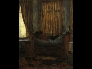 La Dame en détresse de James Ensor - Musée d'Orsay