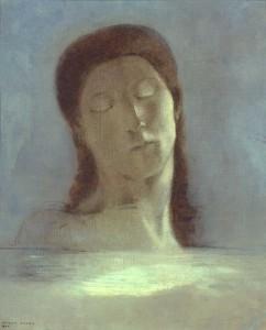 Les yeux clos de Odilon Redon - Musée d'Orsay