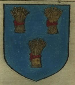 Blason de Messire Pierre de Brosse, Maréchal de France