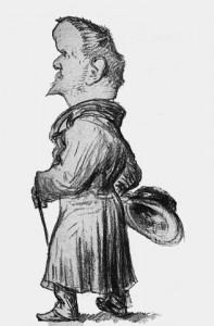 Jules Renard, caricature