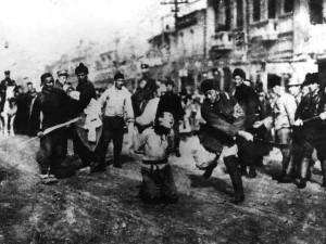 le soulèvement à Canton - 1905