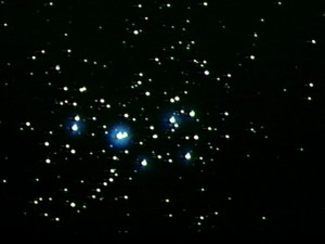 amas d'étoiles des Pléiades