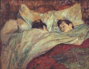Le lit de Henri de Toulouse-Lautrec - Musée d'Orsay