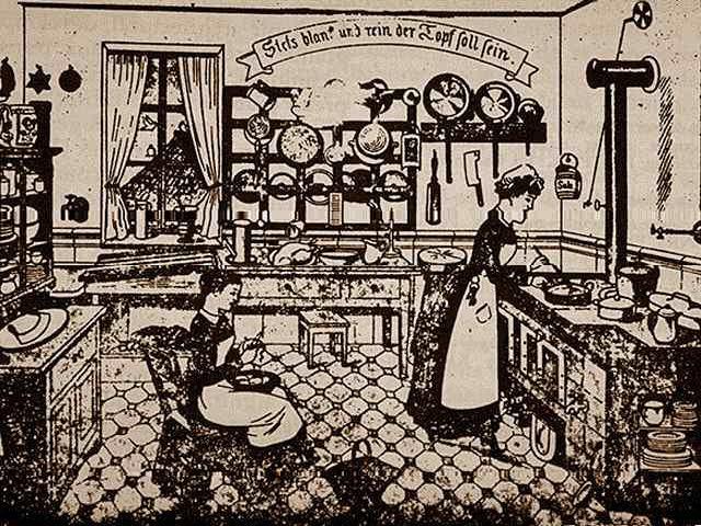 La lib ration de la femme par la machine domestique se for Femme au foyer 1900
