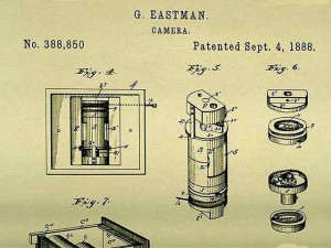 Le brevet de l'appareil photo de Eastman