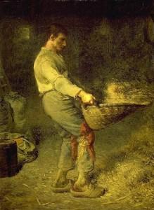 Le Vanneur de Jean-François Millet
