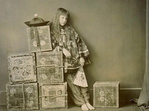 Alice Liddel - photo de Lewis Carroll