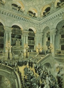 Inauguration de l'Opéra de Paris