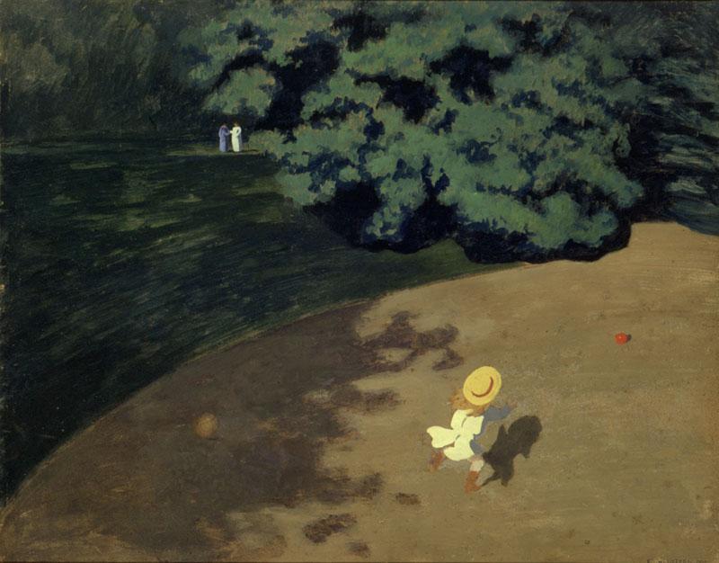 Le Ballon de Felix Vallotton - Musée d'Orsay