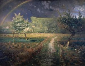Le Printemps de Jean-françois Millet - Musée d'Orsay