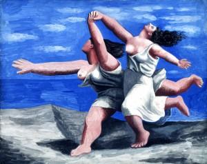 La course de Pablo Picasso © Une minute au musée