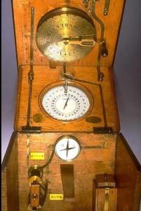 Télégraphe à cadran de Louis Bréguet - 1844 © Musée des arts et métiers, l'Album
