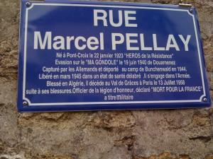 rue Marcel Pellay à Pont-Croix