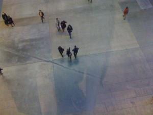 Le hall de la la Tate modern à Londres