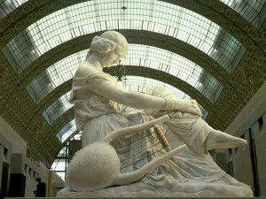 Sapho de James Pradier - Musée d'Orsay
