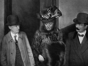 Madame Caillaux au tribunal