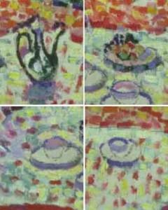 Luxe calme et volupté de Henri Matisse - gros plans