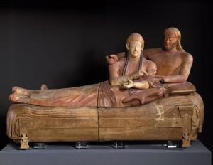 Le sarcophage des époux (Musée de Louvre)