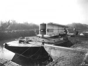 construction des ponts sur la Marne