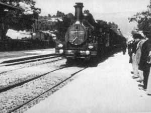 Lumière, l'entrée du train en gare de la Ciotat, 1895