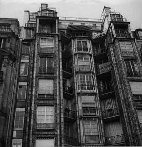 immeuble de la rue Franklin des frères Perret