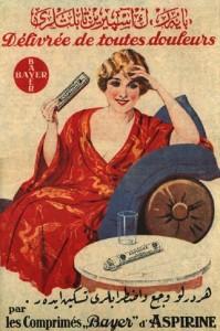 publicité pour l'aspirine