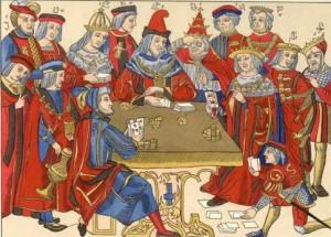 Même si terme de poker est né au XIXe aux États-Unis, ses origines remontent au Xe