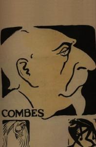Emile Combes - caricature