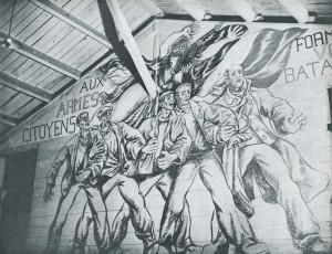 fresque de Boris Taslitzky