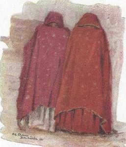 femmes de Bou Saada (Élie Dubois)