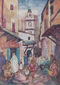 la Kasbah à Alger - 1939