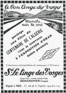 publicité pour Linvosges